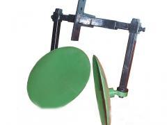Окучник дисковый для мотоблока на рамке (диаметр дисков 410 мм на 2-х подшипниках)
