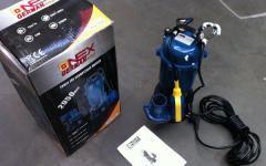Electric pump drainage ONEX of 2.95 kW (pig-iron,