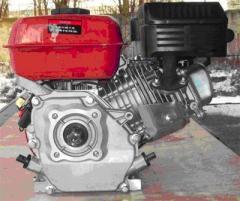 Двигатель бензиновый BULAT BТ177F-S (вал25мм, шпонка), бензин 9,0л.с.