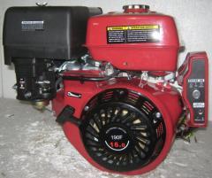 Двигатель бензиновый WEIMA WM190FE-S (25мм, шпонка, эл/старт),бензин 16л.с.