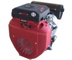 Двигатель бензиновый WEIMA WM2V78F -2цил. 20л.с. (вал конус), бензин.