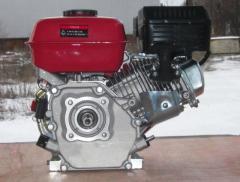 Двигатель бензиновый WEIMA WM170F-T/20 (WM1100C-шлиц20мм), бенз7.0 л.с.