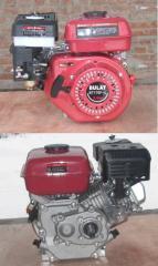 Двигатель бензиновый WEIMA ВТ170F-L (редуктор цепь 1/2, 1800об/мин, шпонка), бензин 7.0л.с.