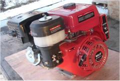 Двигаель бензиновый WEIMA WM190F-S (25мм, шпонка, ручной старт),бензин 16л.с.