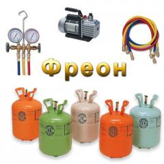 Freon, freon, coolant. Direct deliveries and sale