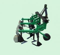 Культиватор межрядной обработки Корунд КМО-2,1 с окучниками (ЖМ)
