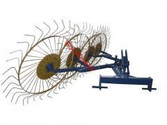 Грабли-ворошилки (Солнышко) толщина граблины 6,0 мм для минитрактора