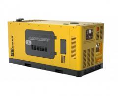 Электрогенератор дизельный Energy Power EP С77S + блок автоматики