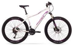 """Велосипед ROMET Jolene 27.5"""" 2.0 белый розовый 17"""