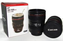 Cup in the form of the lens Caniam Canon EF 24-105