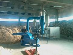 Production line pellet on the basis of OGM 0,8