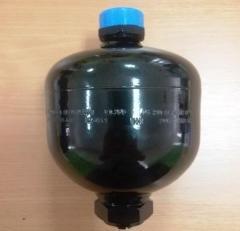 The hydroaccumulator 0,75L 210Bar for equipment