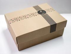 Картонные коробки 195*262*100мм (крышка-дно,