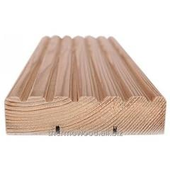 Planks terraced