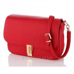 Red opaque the VIP a handbag with the valve