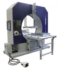 Horizontal packer of dlinnomer of Robopac Compacta