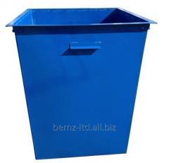 Контейнер для твердых бытовых отходов с крышкой