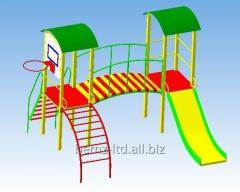 Children's playing complexes