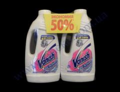 Bleach 1l White +1l White-50% Vanish