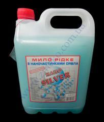 Liquid soap Blyuksis Nano Silver 5 of l