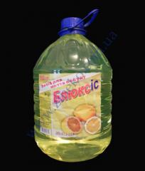 Жидкость для посуды 5л Blux лимон