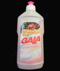 Жидкость для посуды 500г Гала бальзам, Витамин Е для нежных рук