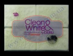 Duru Clean&White soap hoz. white apple, lavender 4*125g