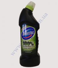 Toilet cleaner of Domestos of black 750 ml