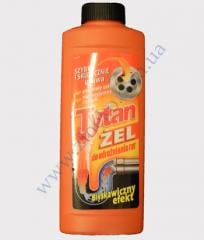 Gel for the pipes Titan of 500 Ml the act.