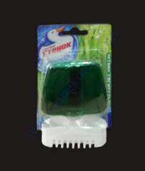 Gel with a basket for toilet bowls of 55 ml the Duckling fores