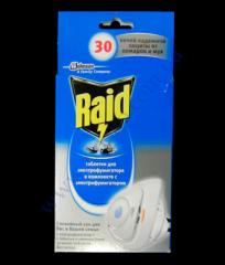 Set Raid an el.fumigator + a tablet of 30...