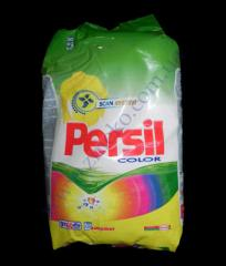 Laundry detergent Persill kolor kg submachine gun 9