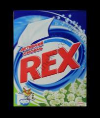 The laundry detergent Rex bleaching 400 g