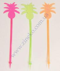 Mixer pineapple with a screw of color 100 pieces 21 cm T
