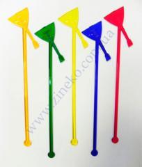 Mixer Balalaika of color 100 pieces 19 cm