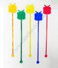 Mixer Drum of color 100 pieces 19,5 cm