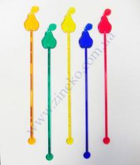 Mixer Grusha of color 100 pieces 18,5 cm