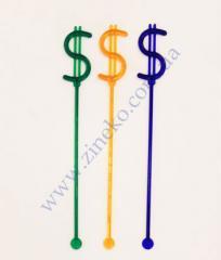 Mixer dollar of color 100 pieces 19 cm of Z