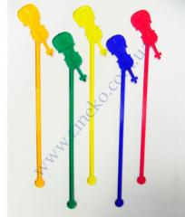 Mixer Contrabass of color 100 pieces 19 cm