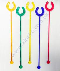 Mixer Horseshoe of color 100 pieces 18 cm
