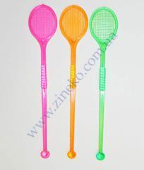 Mixer tennis of color 100 pieces 16 cm