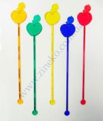 Mixer Apple of color 100 pieces 18 cm