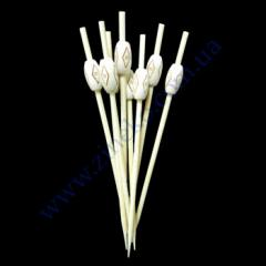 Skewers of Mali of 12 cm 40 pieces PS-84680 bamb