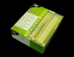 Шпажка Бамбук заостренная 11см 200шт из бамбука PS-16768