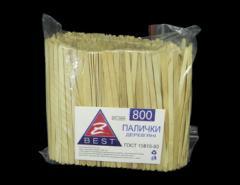 Stick mixer of Z-Vest-12005 14 cm of wooden 800 pieces