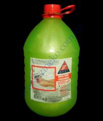 Liquid soap lemon of 5 l