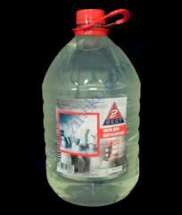 Detergent for ware of 5 l glycerin - transparen