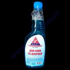 Means for glass, mirrors of 500 ml a smenka with liquid ammonia