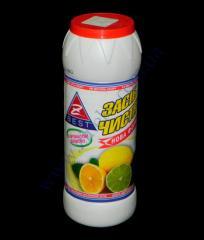 Cleaning powder 500g. lemon