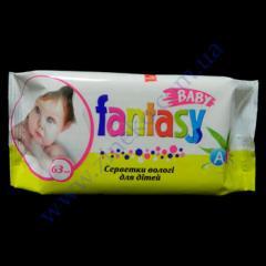 Napkin pieces, damp for children of Fantasy 63